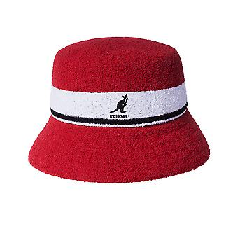 Unisex hattu kangol bermuda raita ämpäri k3326st.613
