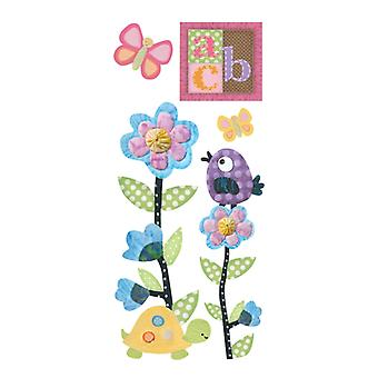 Paper House Productions - Puffy Stickers - Baby Girl
