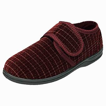 JWF Slipper Boots Washable Wide Fit House Shoes Bootee