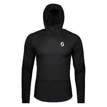 Scott Windshield Rc Run Mens Windproof Running Jacket Black/yellow