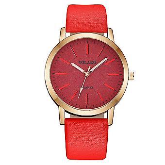 Fashion Elegant Women Luxurious Bracelet Quartz Leather Watch