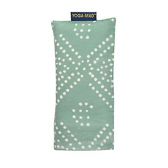 Fitness Mad Patterned Cotton Eye Pillow-Pastel Green Diamond