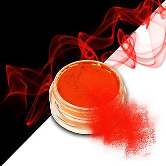 Effekt pulver - Smoke - Neon - Mörk Orange - 06