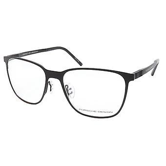 Porsche Design P8275 A Black Metal Acetate Eyeglasses Frame Japan 55-18-145, 43