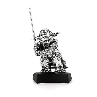Royal Selangor 017861R mestari Yoda Pewter Figurine-tähti sodat