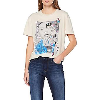 Pepe Jeans Marion T-Shirt, (Natural 816), SMA L L Woman
