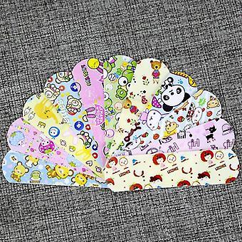 100pcs impermeable transpirable lindo dibujos animados Kawaii band aid hemostasia adhesivo
