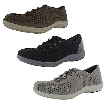 Aravon Womens Betty-AR Lace Up Sneaker Shoes