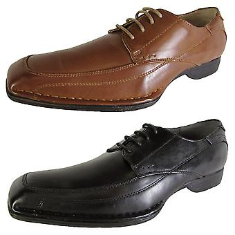 Madden Mens M-Sear Lace Up Square Toe Oxford Shoes