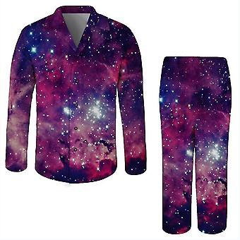 2Xl fialová 3d tlačená nočnej prádlo pre dospelých romper x2692