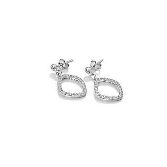Hot Diamonds Voici White Topaz Déclaration Boucles d'oreilles DE654