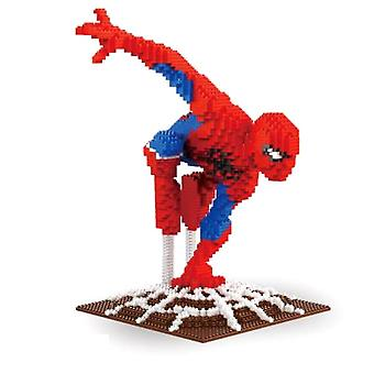 New Spider Man Building Blocks Puzzle Micro 3d Figures Marvel Educational Brick Toys ES7479