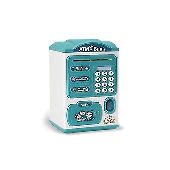Vihreät lapset raha pankki salasana sormenjälki sähköiset säästöpossut lelu dt4977