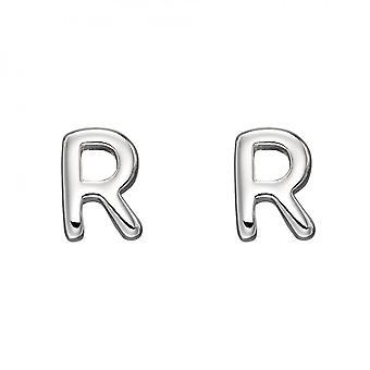 Начальные R стерлингового серебра Серьги E6035