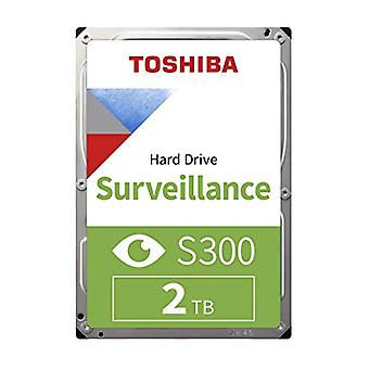 Interní pevný disk Toshiba S300 2 TB Surveillance HDD - hromadný (3,5 5 štipý SATA 6 Gb/s 5400 ot/min 128 MB cache)
