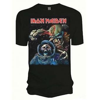 Iron Maiden Final Frontier Album Mens T Skjorte: XXL