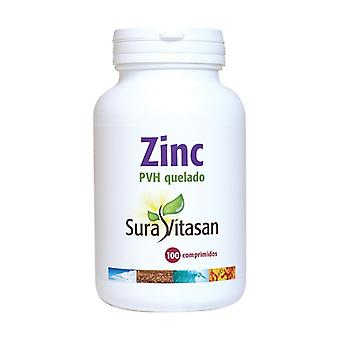 Chelated Zinc Pvh 100 tablets of 250mg (25mg)
