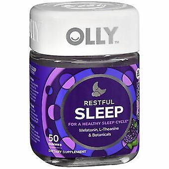 Olly Sommeil résifique Blueberry Zen, 0, 50 Gummies