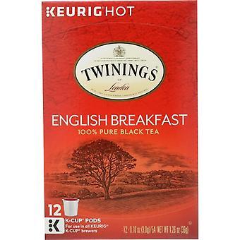 Twining Tea Tea Kcup Engl Brkfst, Case of 6 X 12 PC