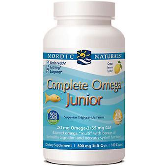 Nordic Naturals Complete Omega Junior, 500 mg, 180 ct