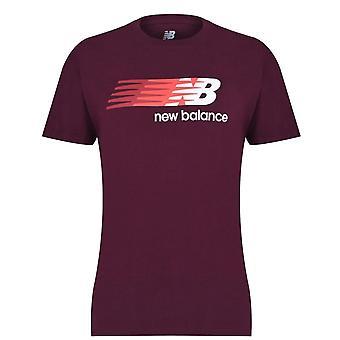 Uusi tasapaino lentävä logo Tee Mens