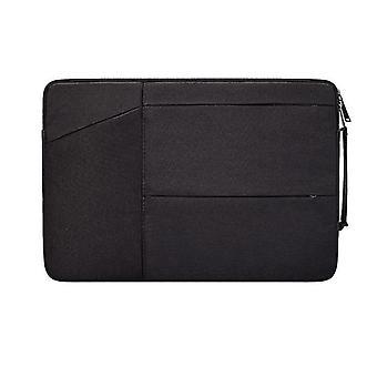 13.3Inch 35 * 26 * 3cm musta 15,6 tuuman kannettava laukku Apple Macbook huaweille, hengittävä, vedenpitävä, kulutusta kestävä az12062