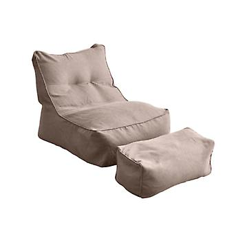 Lepotuolin istuin, kiinteä suojaava, laiska sohvan kansi