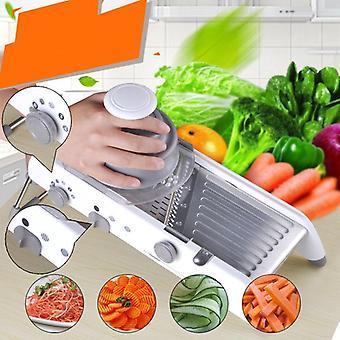 دليل تقطيع الخضروات، القاطع ماندولين، مبشرة الفاكهة المروحية