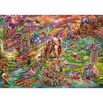 Schmidt Drakens skatt pussel (2000 stycken)