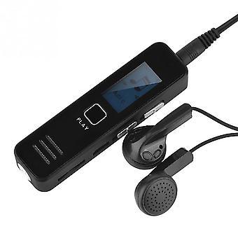 Usb-ääninauhuri, ladattava digitaalinen äänidiktafoni Mp3-soitin, melu