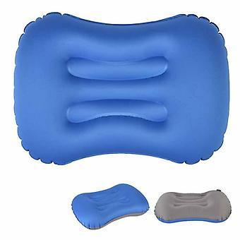 Ipree® utendørs reise luft oppblåsbar pute sove nakke massasje folding pute