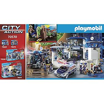Playmobil City Action Police Off-Road Car with Theif
