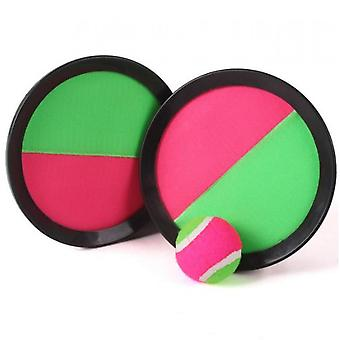 Paddle Toss en Catch Ball Set- 7inch Paddle Catch Games Speelgoed 2 Rackets 1 Bal