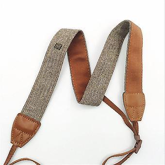 2 Pcs כותנה אוניברסלי מצלמה חגורת צוואר כתף רצועה עבור חגורת צוואר כתף מצלמה אוניברסלית