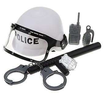 Lasten poliisi mies rooli leikki lelu tarvikkeet
