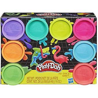 play doh rainbow 8 pack Black