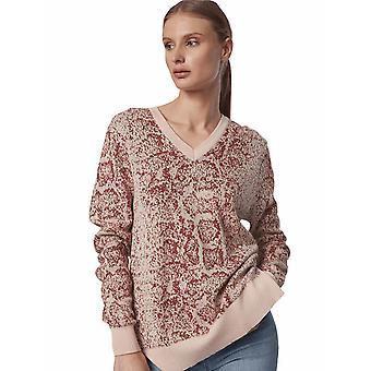 Shuuk Snake-Print Sweater