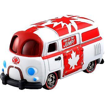 سبيكة الكرتون القيقب ليف نموذج سيارة محاكاة لعب الأطفال
