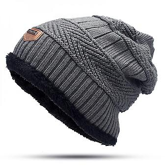 Men Cashmere Scarf And Hat