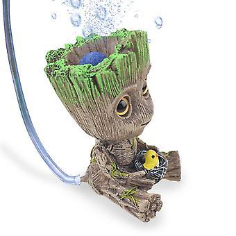 Aquarium Accessories Baby Groot Home Fish Tank Decoration Aquarium Decoration Ornament For Aquarium