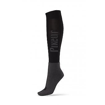 Pikeur Womens Knee Socks - Black