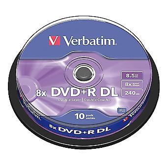 8.5gb 8x Bluray Blank Cd Disks Dual Layer