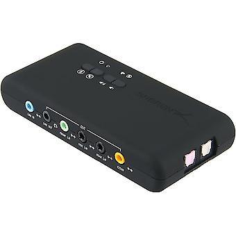 ערכת השבבים Cmi-6206 עם Spdif וכרטיס כבל מאריך USB למחשב