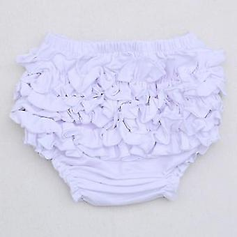 Cotton Ruffle Cute Baby - Diaper Cover Shorts / Bloomers