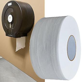 4Ply سماكة جمبو لفة ورق التواليت الأبيض حمام أنسجة لفات كبيرة المنزلية