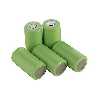 5pcs C 5000mah 1.2v Ni-mh Power Batteriezelle wiederaufladbar 20a 50x26mm Anwenden auf Elektrowerkzeuge Elektrische Bohrmaschine Elektrische Hammer Staubsauger Kehrmaschine