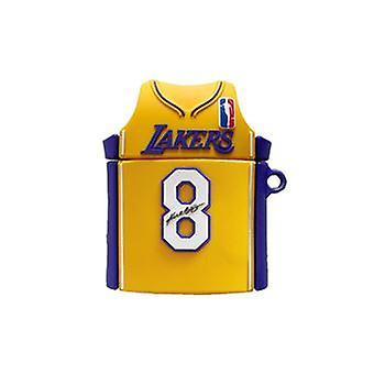 Silikagélové puzdro pre AirPod 2/1 - Los Angeles Lakers
