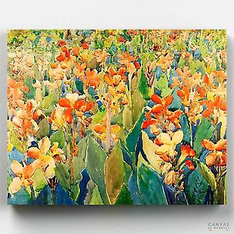 מיטת פרחים - מוריס פרנדרגסט