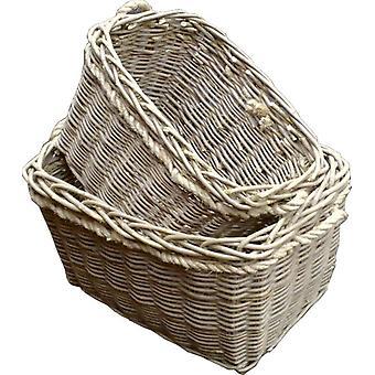 Set de 2 cestas de registro profundo molino
