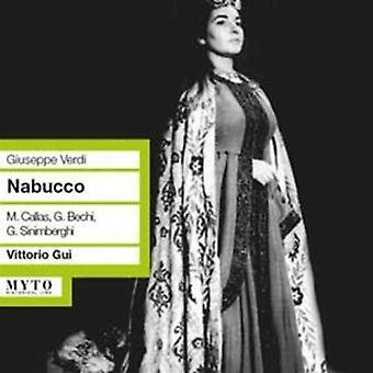 Verdi / Bechi / Sinimberghi / Neroni / Gui - Nabucco Dramma Lirico in Quattro Parti [CD] USA import